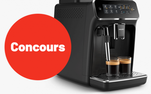 Une machine à café 3200 Series Philips