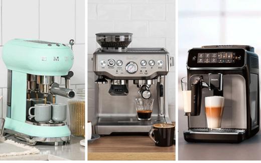 Une machine à espresso Breville