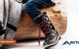 Une paire de bottes d'hiver Acton Famille