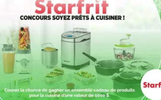 1000$ de produits Starfrit