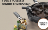 3 Poêles à fondue Fondussimo