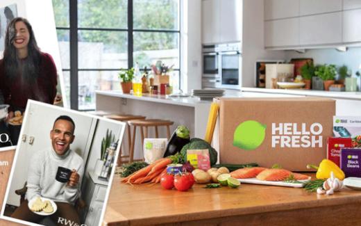6 mois de boîtes-repas HelloFresh
