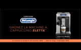 Machine à espresso Eletta Cappuccino Top Delonghi