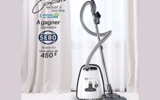 Un aspirateur de la marque SEBO Canada