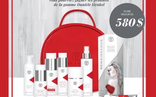 Un ensemble de produits Danièle Henkel