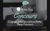 Une couverture apaisante Better Sleep PREMIUM