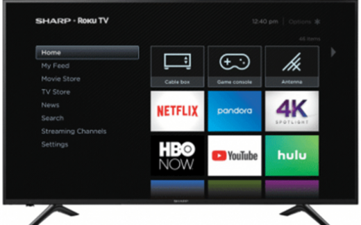 3 Téléviseurs Sharp Smart LED TV 4K de 65 pouces