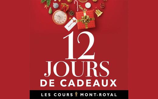 12 JOURS DE CADEAUX
