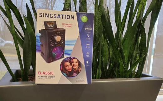 6 machines de karaoké Singsation