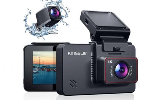 Caméra Dash Cam 4K Ultra HD Kingslim