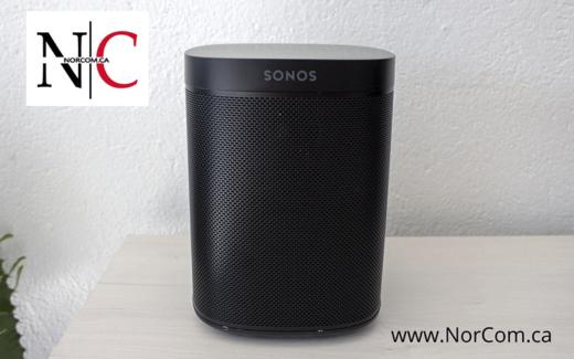 Un Speaker Sonos Noir