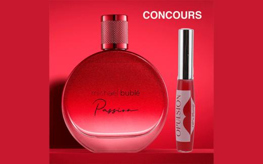 Gagnez le parfum Rouge Passion de MICHAEL BUBLe