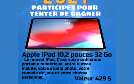 Un apple ipad 10.2 32 go