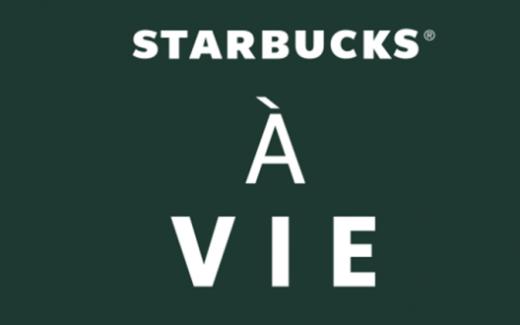 Gagnez un prix Starbucks pour la vie
