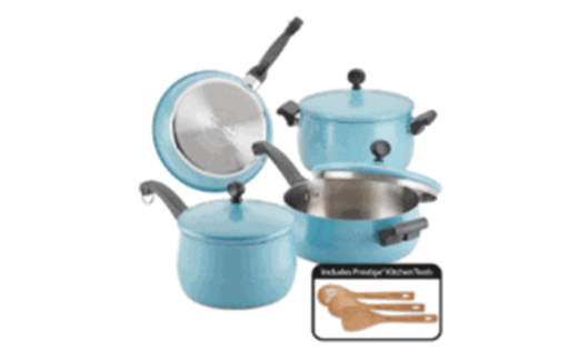 Un ensemble de casseroles Farberware