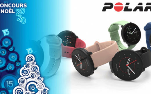 Une montre fitness intelligente Polar Unite
