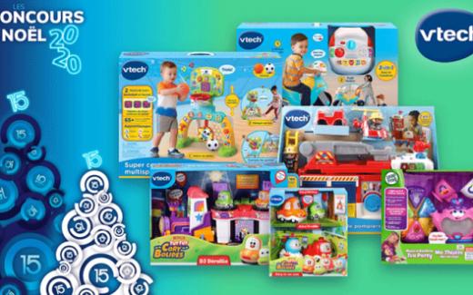 Une variété de jouets interactifs VTech