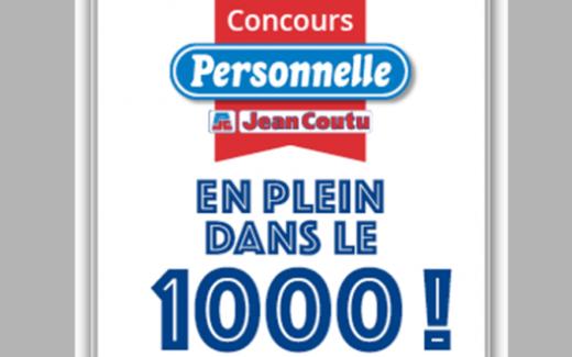 5 cartes-cadeaux Jean Coutu de 1000$ chacune