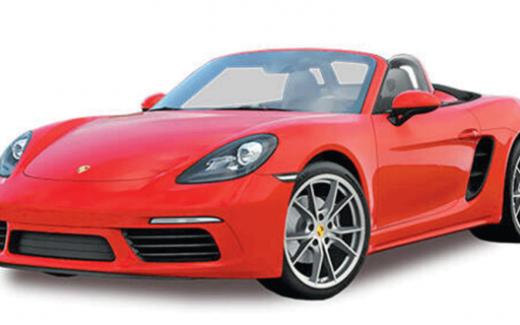 Gagnez une voiture Porsche 718 Boxster 2021