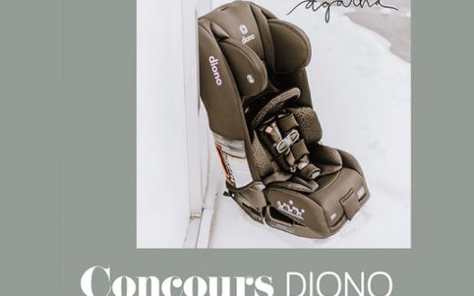 Un siège d'auto 3 RXT de Diono