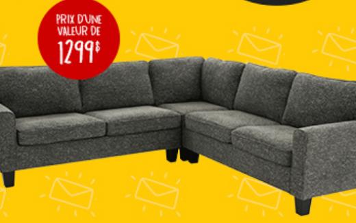 Un sofa modulaire