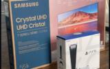 Une TV 55 SAMSUNG + Une PS5