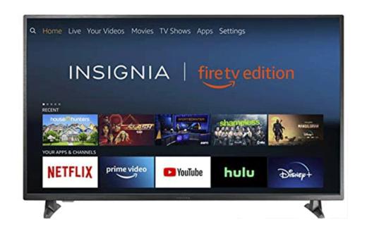 Une télévision intelligente HD Insignia