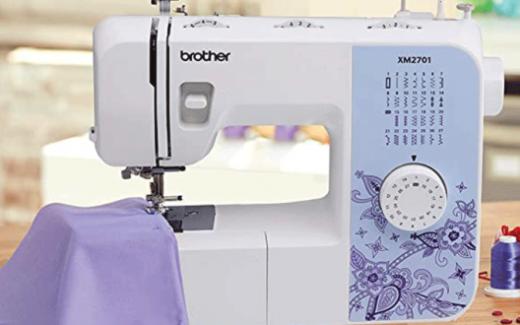 Une machine à coudre Brother + du matériel de couture