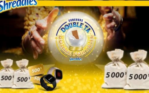 10 000 $ et des prix hebdomadaires
