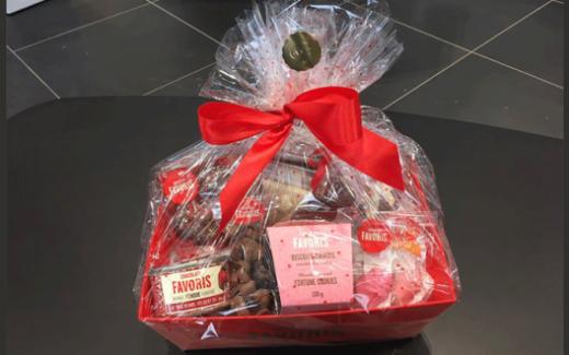 Panier cadeau Chocolats Favoris