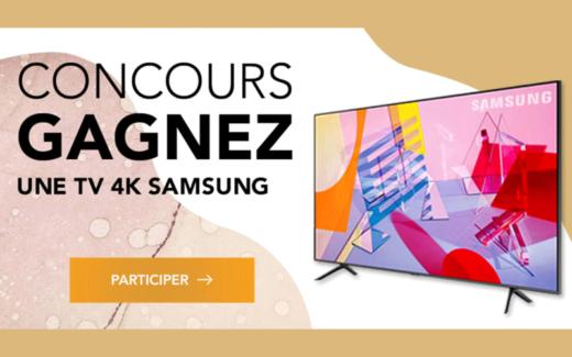 TV 4k 55″ SAMSUNG de 1000 $