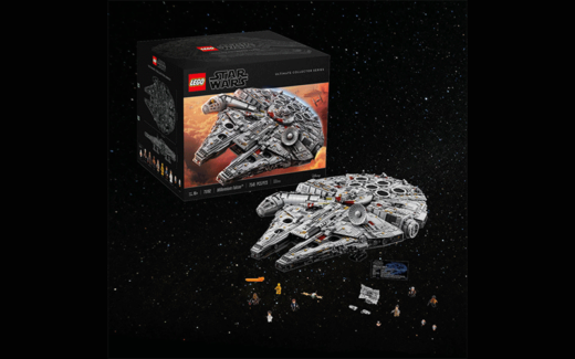 Un des plus grands ensembles LEGO 7541 pièces