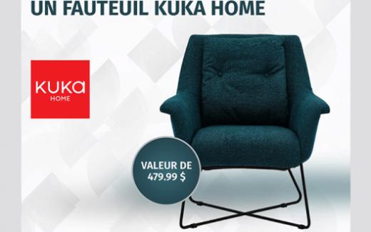 Un fauteuil KUKA Home