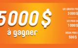 Un grand prix de 3000$
