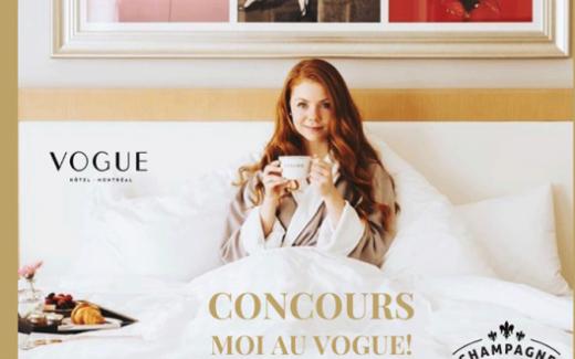 Un séjour à l'hôtel Vogue Montréal