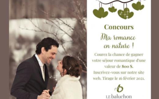 Un séjour romantique au Baluchon Éco-villégiature