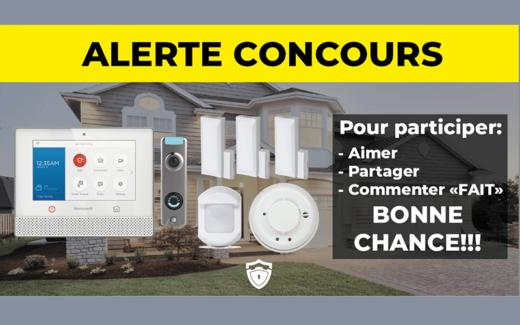 Un système d'alarme Maison Intelligente