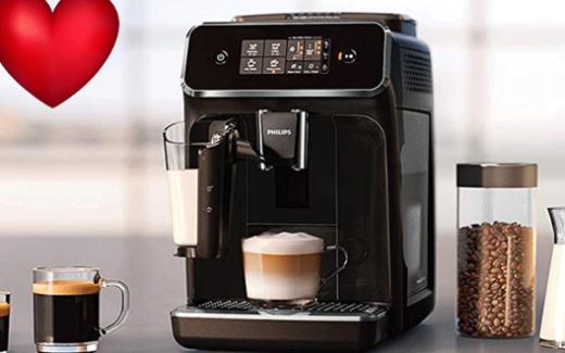 Une machine espresso automatique Philips 2200 LatteGo
