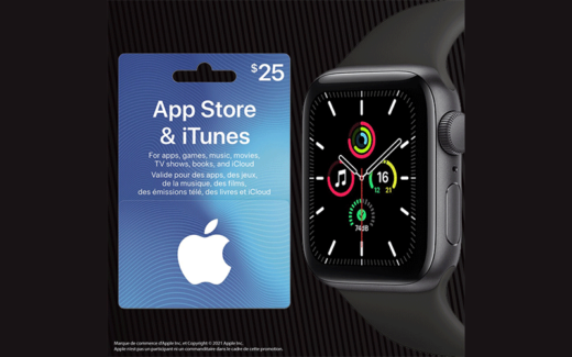 Une montre Apple Watch SE