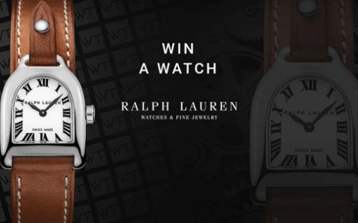 Une montre Ralph Lauren