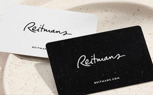10 cartes-cadeaux Reitmans de 250 $