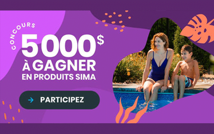 5 000 $ à dépenser chez Sima