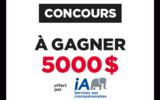 5000 $ offert par Industrielle Alliance