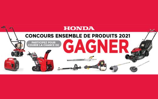 Un ensemble de produits mécaniques Honda