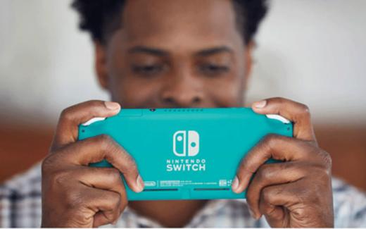 Une Switch Lite de Nintendo
