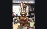 Une figurine en chocolat belge Rodger