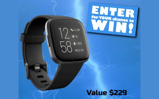 Une montre connectée Fitbit Versa 2
