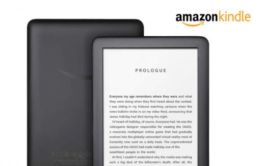 Une tablette liseuse Kindle