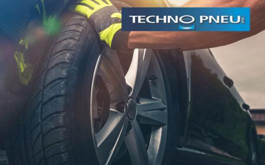 4 pneus d'auto de Techno Pneu
