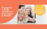 Un an de dentifrice pour toute la famille